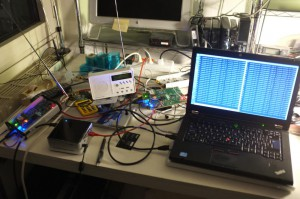 SFN test at MC's place